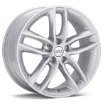 "BBS SX Brilliant Sølv 17""(10013578)"