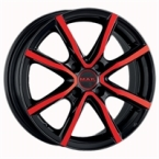 "MAK Milano 4 You B&R BLACK AND RED 15""(EW274003)"