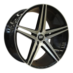 "KW-SERIES S10 MEGA CONCAVE black/polished 22""(EC12678)"