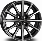 "Borbet BL4 Anthracite Polished MISTRAL ANTHRACITE POLISHED GLOSSY 15""(496448)"