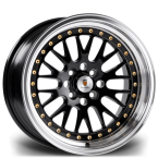 "Stuttgart ST5 GLOSS BLACK POLISHED LIP 16""(ST51694X1002573.1GBPL-v1)"