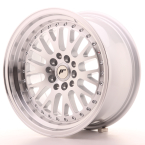 "Japan Racing JR10 Silver Machined Face 16""(WTJR10168142067S-4x100-20)"
