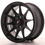 "Japan Racing JR11 Flat Black 15""(WTJR11157043067FB-4x100-30)"