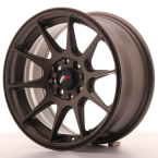 "Japan Racing JR11 Matt Bronze 15""(WTJR11157043067MBZ-4x100-30)"