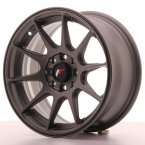 "Japan Racing JR11 Matt Gun Metal 15""(WTJR11157143067MGM-4x100-30)"