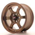 "Japan Racing JR12 Dark Anodized Bronze 15""(WTJR12157542673DABZ-4x100-26)"