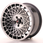 "Japan Racing JR14 Gloss Black w/Machined Face 16""(WTJR14169041074BM-4x100-10)"