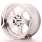 "Japan Racing JR15 Silver Machined Face 15""(WTJR15158142074SM-4x100-20)"