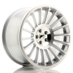 "Japan Racing JR16 Silver Machined Face 19""(WTJR1619105K3574S-5x100-35)"
