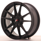 "Japan Racing JR21 Matt Black 17""(WTJR21177054074BF-5x100-40)"