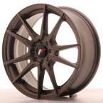 "Japan Racing JR21 Matt Bronze 17""(WTJR21178043574MBZ-4x100-35)"