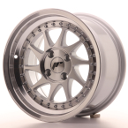 "Japan Racing JR26 Silver Machined Face 15""(WTJR26158142567SM-4x100-25)"