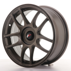 "Japan Racing JR29 Blank Matt Bronze 16""(WTJR291680XX2067MBZ-5x108-25)"