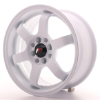 "Japan Racing JR3 White 15""(WTJR3157142573W-4x100-25)"