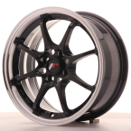 "Japan Racing JR5 Gloss Black w/Machined Lip 15""(WTJR515704H3573GB-4x100-35)"