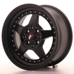 "Japan Racing JR6 Matt Black 15""(WTJR6157043567BF-4x100-35)"