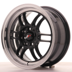 "Japan Racing JR7 Gloss Black w/Machined Lip 15""(WTJR7157043873GB-4x100-38)"
