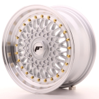 "Japan Racing JR9 Silver w/Machined Lip 15""(WTJR9157142074S-4x100-20)"