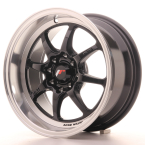 "Japan Racing TFII Gloss Black 15""(WTTFII157543073GB-4x100-30)"