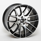 "ZITO 935 Gloss Black Face Polished 19""(859Q20GBFPZIXLS)"