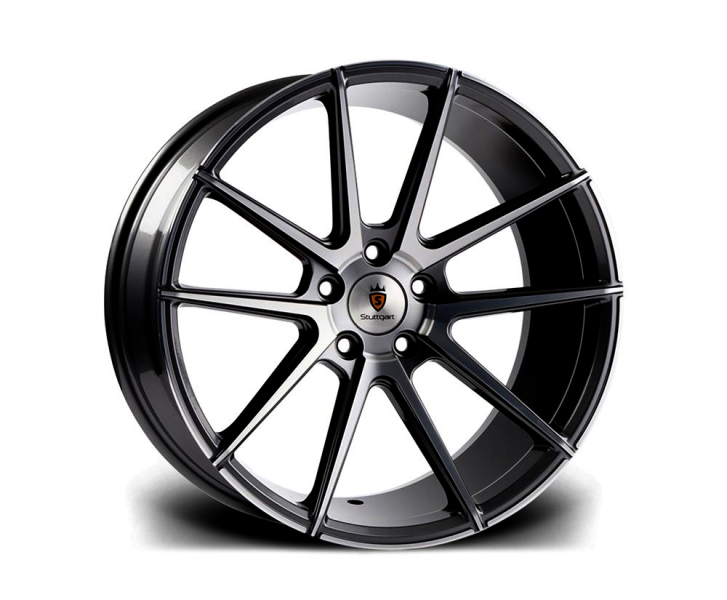 Stuttgart ST9 BLACK POLISHED 19""