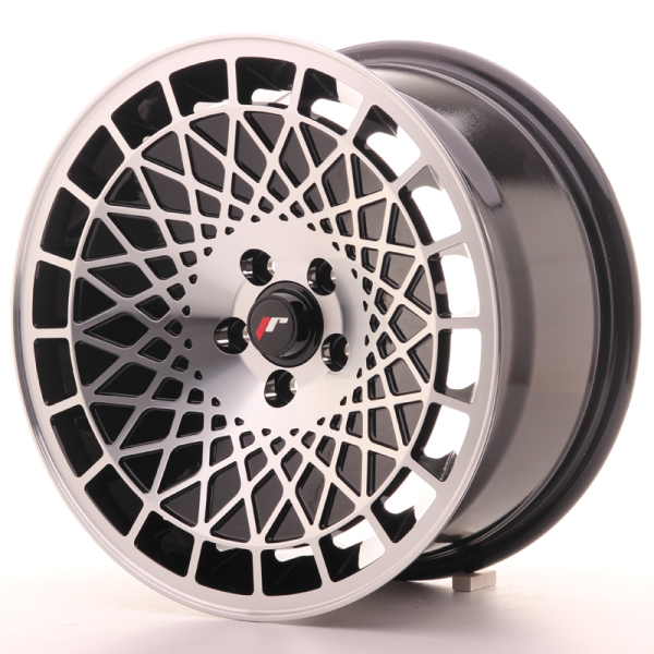 Japan Racing JR14 Gloss Black w/Machined Face 16""