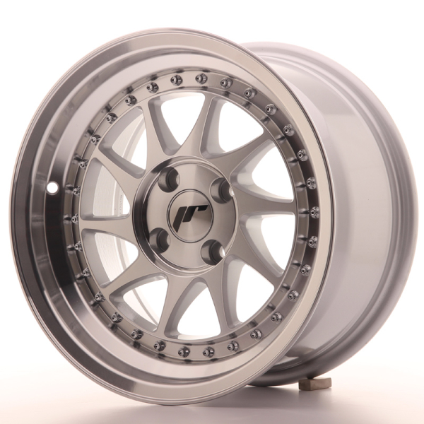 Japan Racing JR26 Silver Machined Face 15""