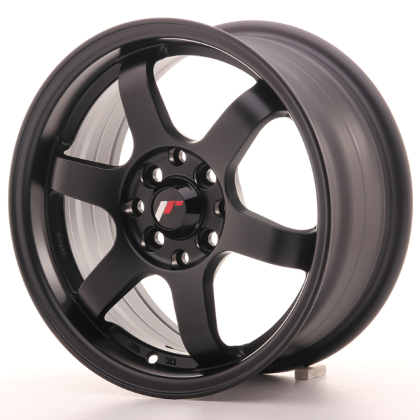 Japan Racing JR3 Matt Black 15""