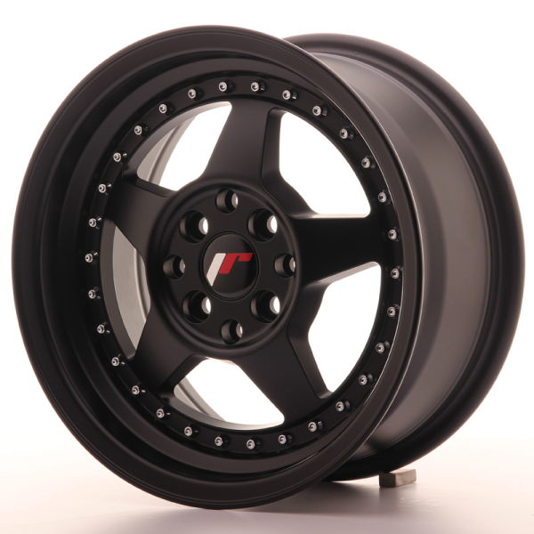 Japan Racing JR6 Matt Black 15""