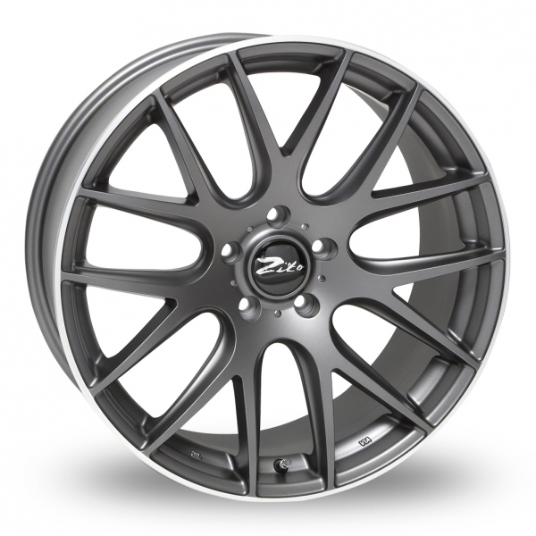ZITO 935 Matt Grey Polished Lip 20""